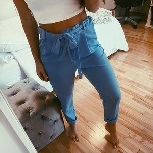 BLUE PANTS LIGHT TROUSERS SMALL
